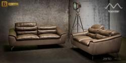 кожаный диван реклайнером купить