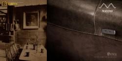 кожаная мебель Бенцони с реклайнером