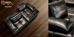 модульный диван Метро натуральная кожа