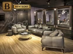 кожаная мебель для гостинной фото