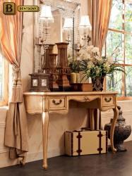 классический туалетный стол Феникс цвет слоновая кость