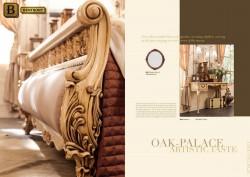 Фигурная резьба элемент классической мебели Феникс массив дерева