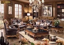 классический интерьер гостиной Дакота М18