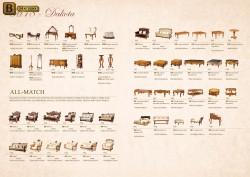 Каталог классической мебели с размерами