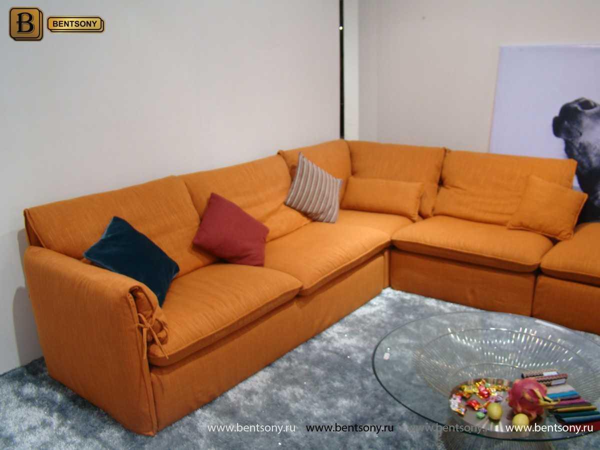 Диван Массимо (Угловой с Пуфом) каталог мебели