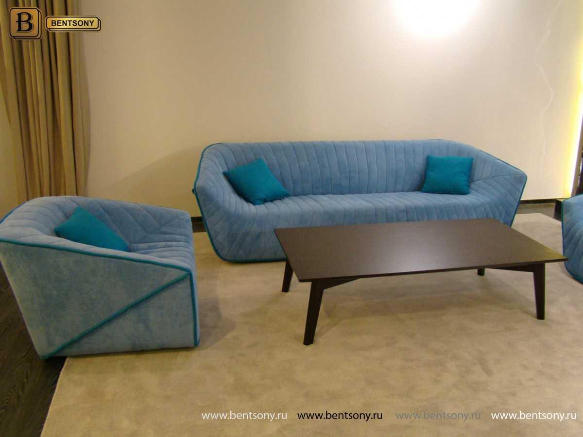 Диван Тициано (Прямой, Велюровый) каталог мебели