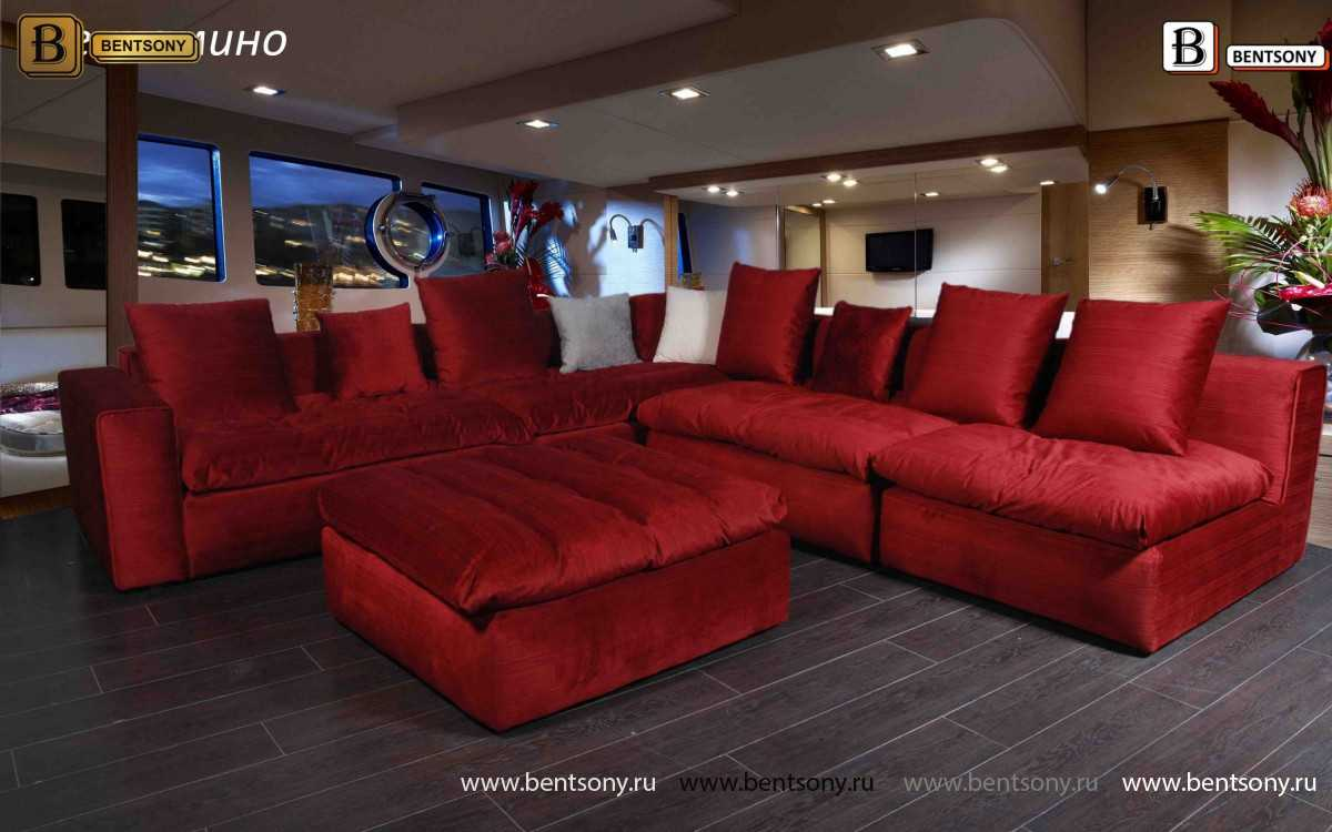 Красный диван п Бениамино