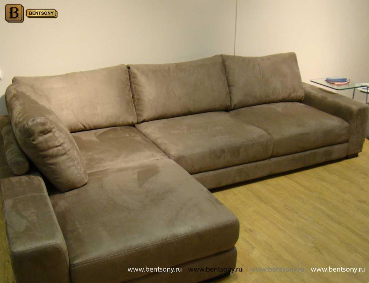 купить угловой диван Луиджи ткань спб