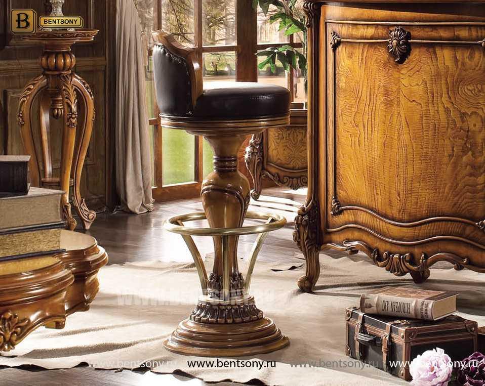 Барный стул (Кресло) Дакота (Натуральная кожа) распродажа