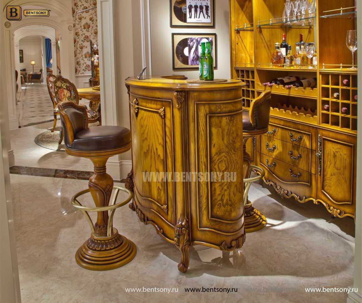 Барный стул (Кресло) Дакота (Натуральная кожа) каталог мебели с ценами