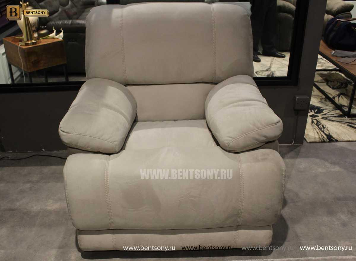 Кресло Марко (Реклайнер, Алькантара) распродажа