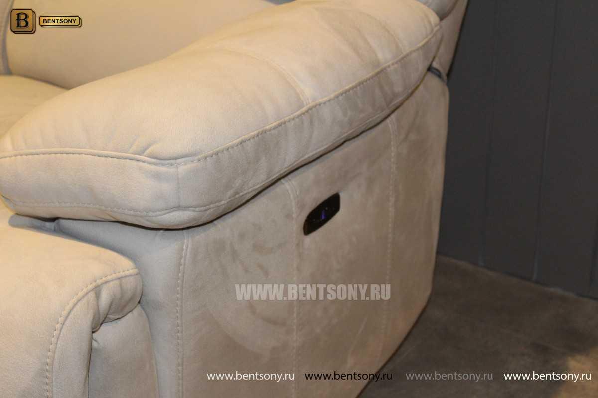 Кресло Марко (Реклайнер, Алькантара) изображение
