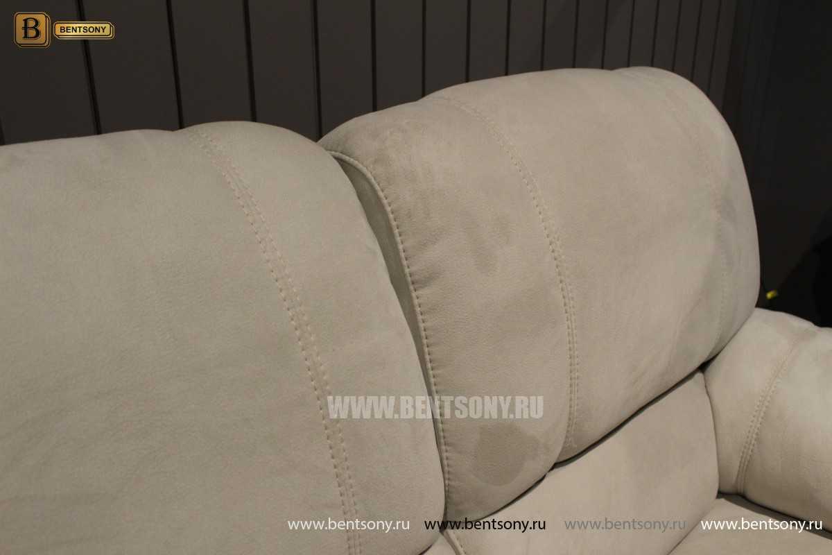 Кресло Марко (Реклайнер, Алькантара) для загородного дома