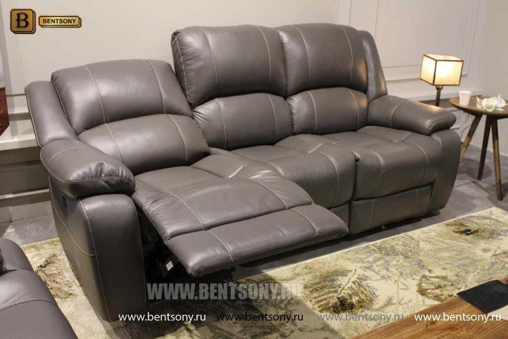Кресло Пандуци (Реклайнер, Натуральная Кожа) купить в СПб
