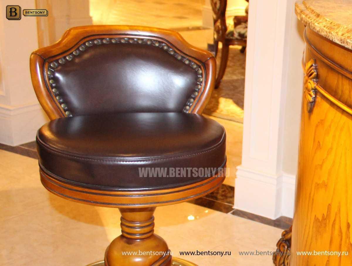 Барный стул (Кресло) Дакота (Натуральная кожа) сайт цены