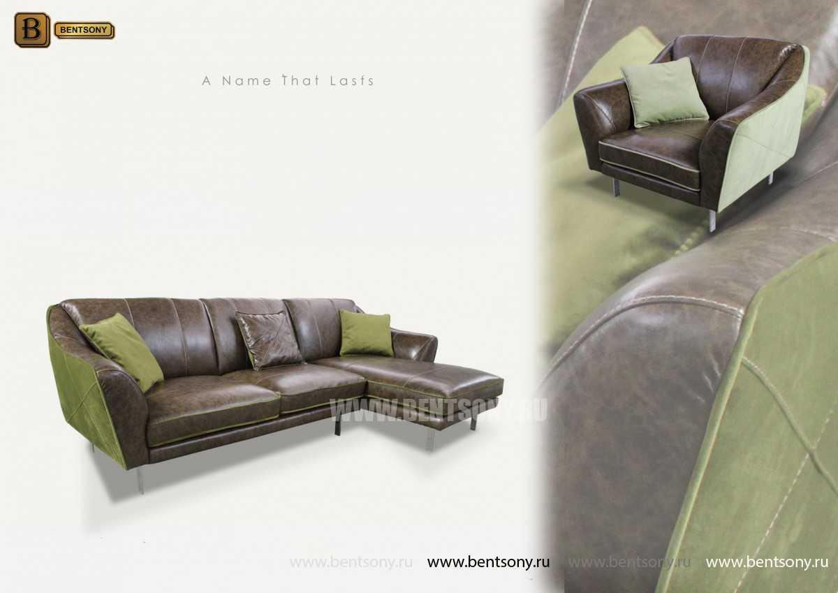 Диван Туторино (Угловой с шезлонгом) каталог мебели с ценами