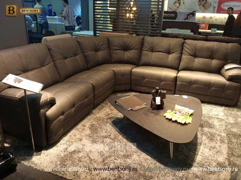 купить диван из натуральной кожи Лексус