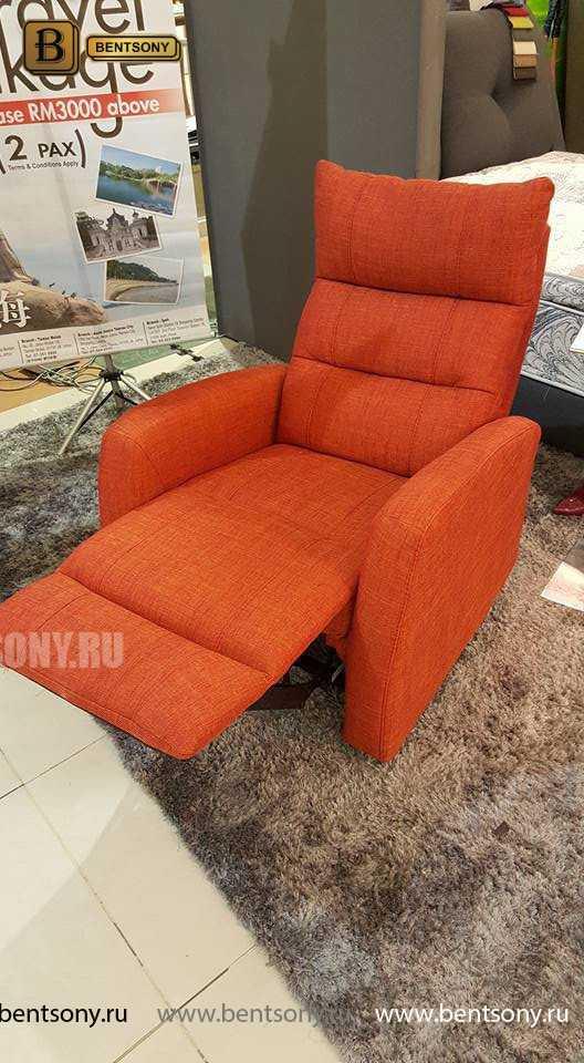 Кресло Лаваль (Реклайнер, Натуральная кожа)
