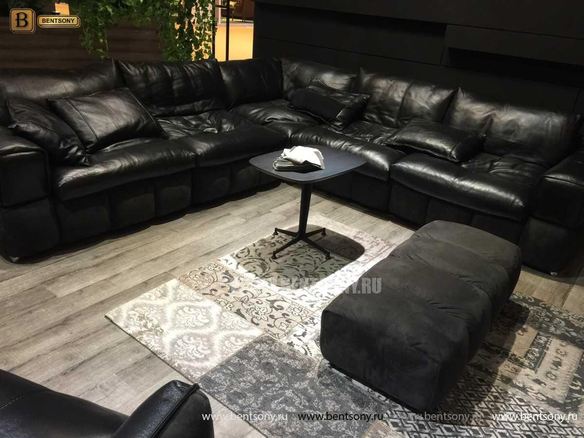 модульный кожаный диван купить москва