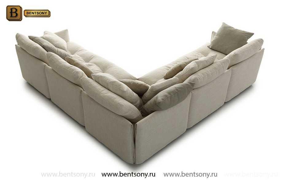 Большой модульный диван Арлетто