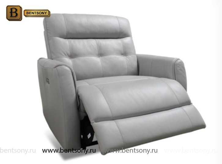 Кресло Кореджо (Реклайнер, Натуральная кожа)