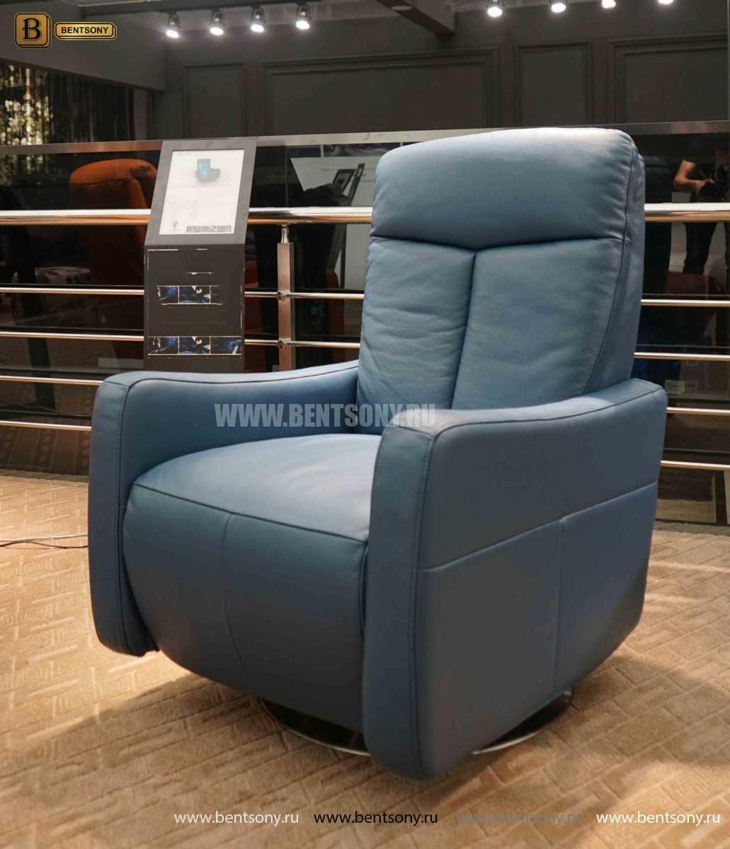 Кресло Фабио (Реклайнер, Натуральная кожа) купить в СПб