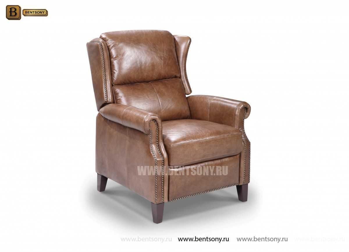 Кресло Адриано (Реклайнер, Натуральная кожа)