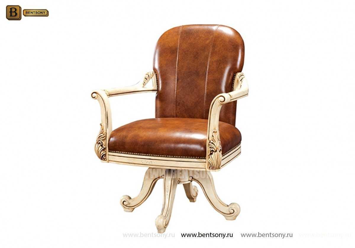 Кресло Кабинетное Феникс (Классика, натуральная кожа) официальный сайт цены