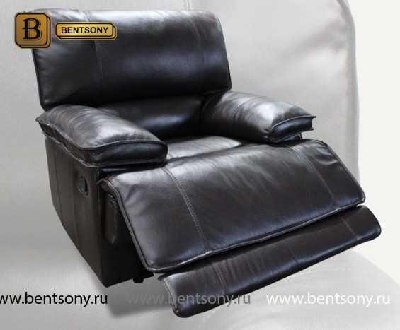 Кресло Капонело (Реклайнер, Натуральная кожа) распродажа