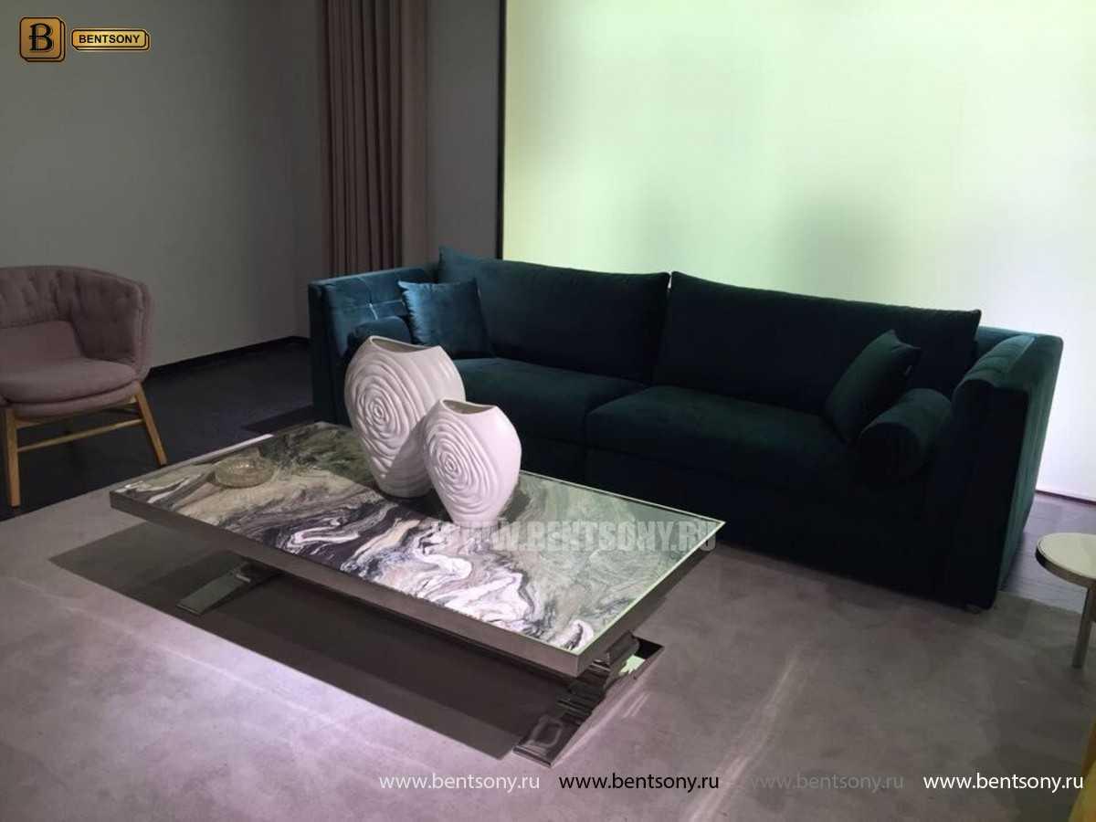 Диван Корсо (Прямой, Велюр) для квартиры