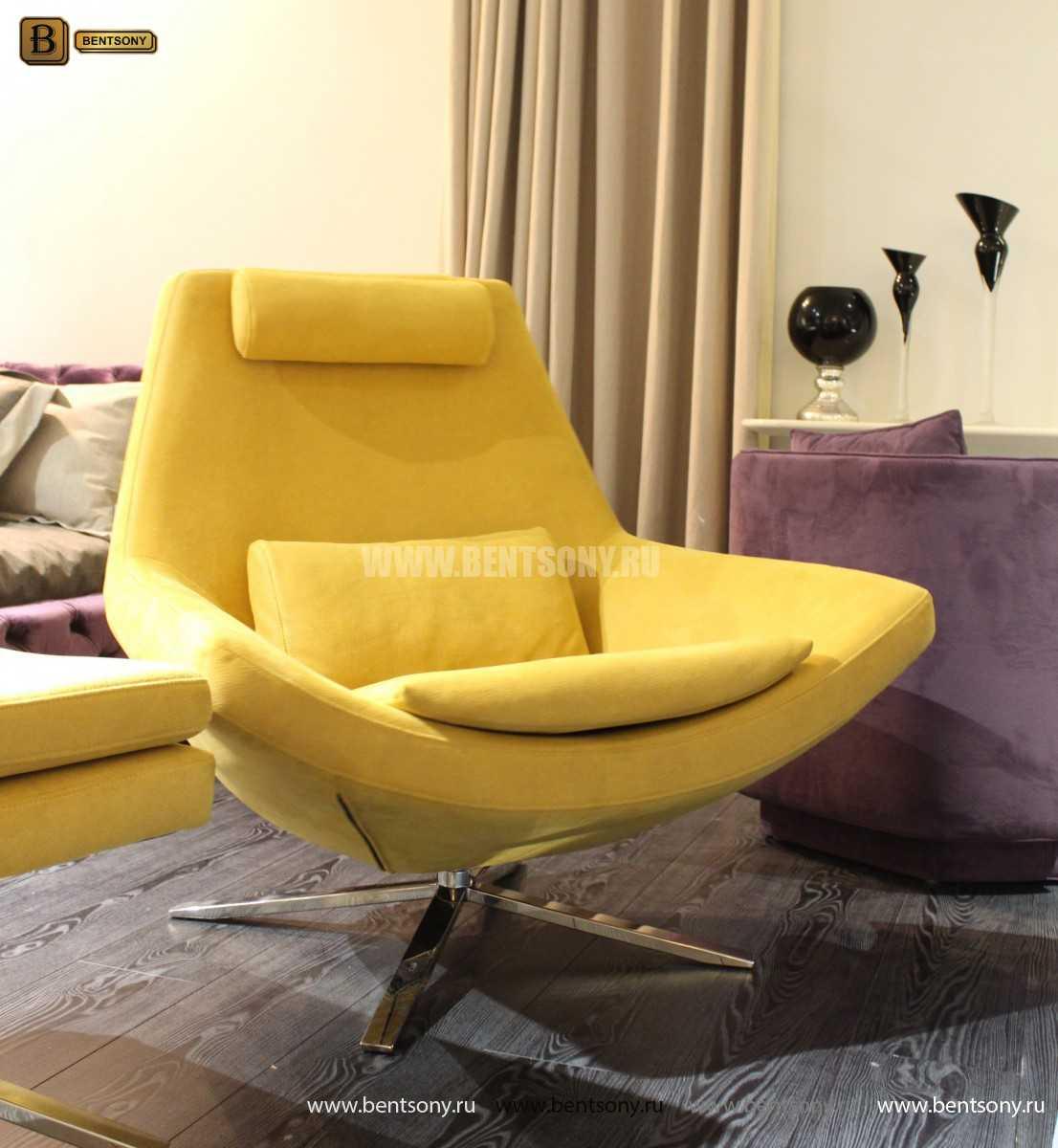 Кресло Уджино (Металлические ножки, Ткань) в СПб