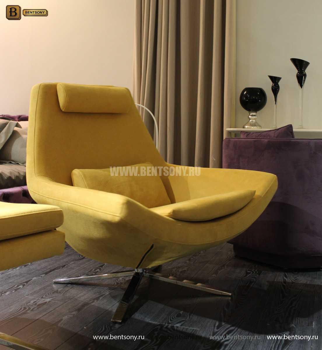 Кресло Уджино (Металлические ножки, Ткань) для дома