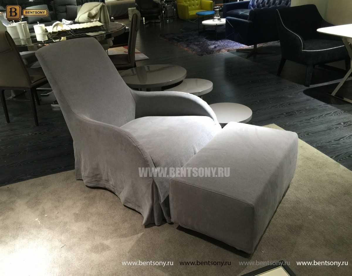 Кресло Саймон (Ткань, Пуф)