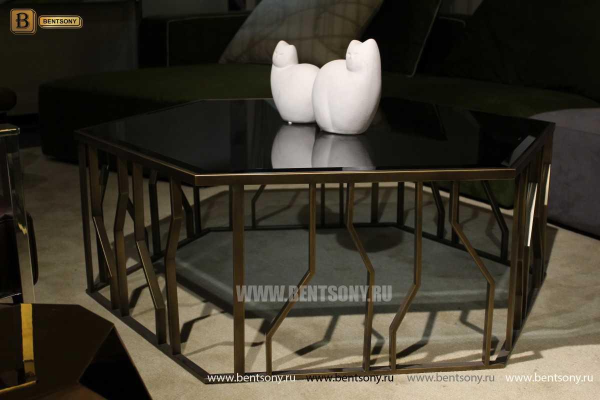 Стол Журнальный (Круглый, стеклянная столешница) каталог мебели