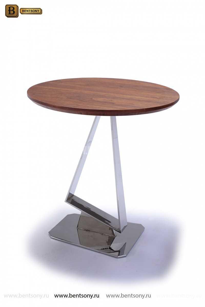 Стол Журнальный (Круглый, Деревянная столешница) каталог мебели