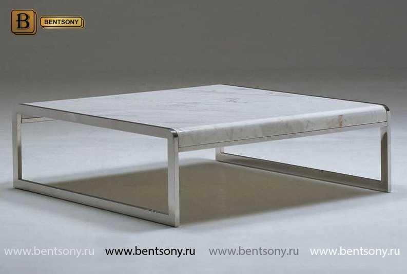 Стол Приставной (Квадратный, Мраморная столешница) купить в СПб