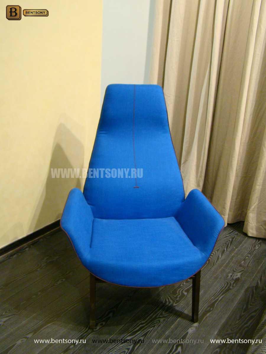 Кресло Ленчо (Деревянные ножки, Пуф)