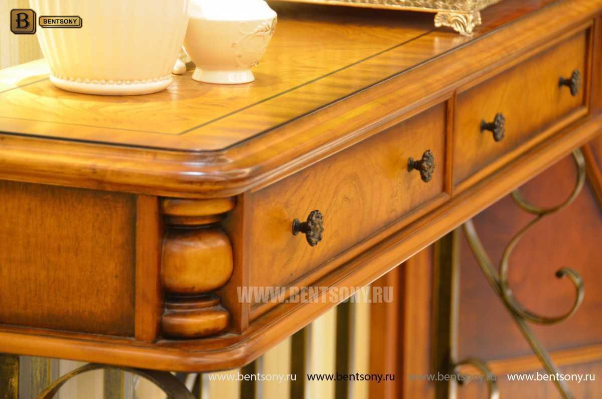 Тумба придиванная Дакота B (Классика, деревянная столешница) каталог мебели с ценами