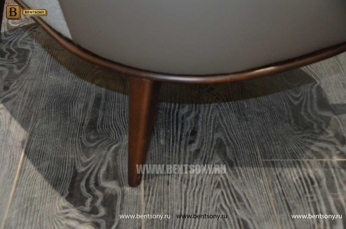 Кресло Бранд (Деревянные ножки, Пуф)