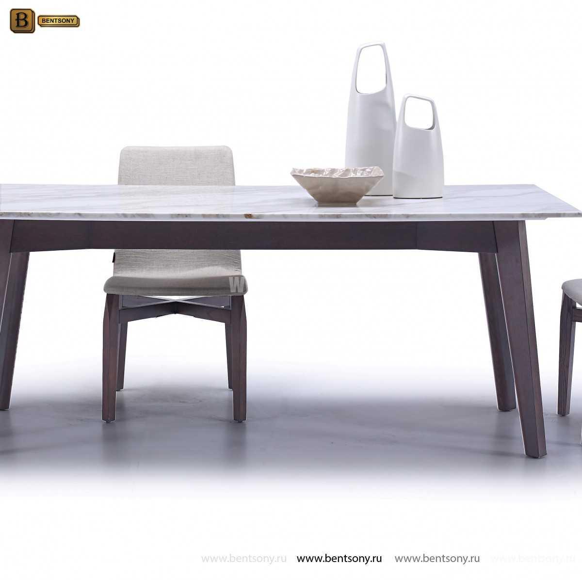 Стол Обеденный (Мраморная столешница)