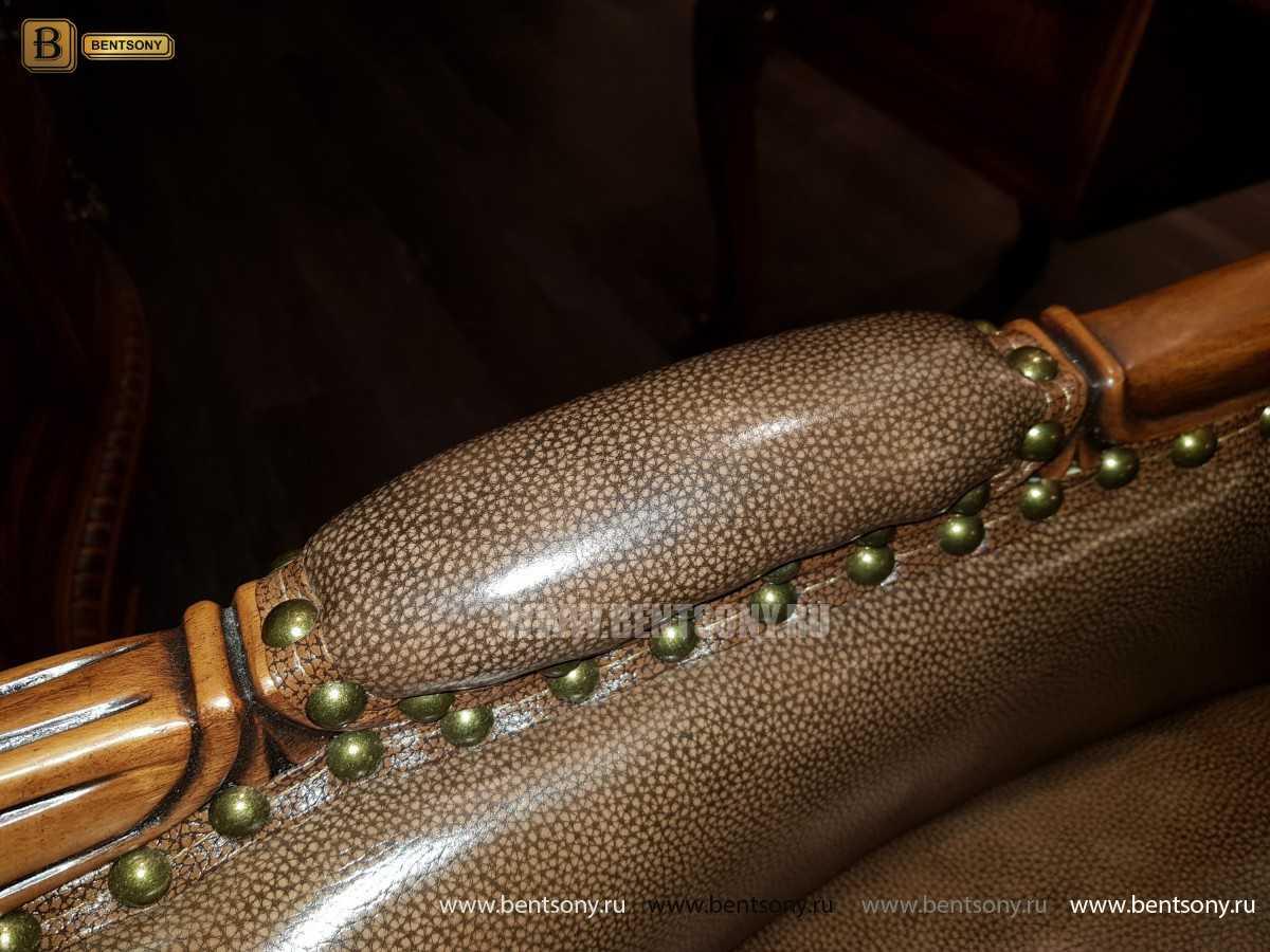 Кресло Кабинетное Монтана (Натуральная кожа)