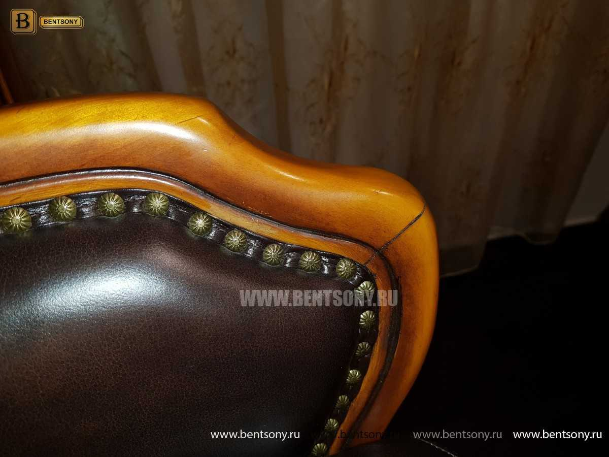 Барный стул (Кресло) Дакота (Натуральная кожа) для дома