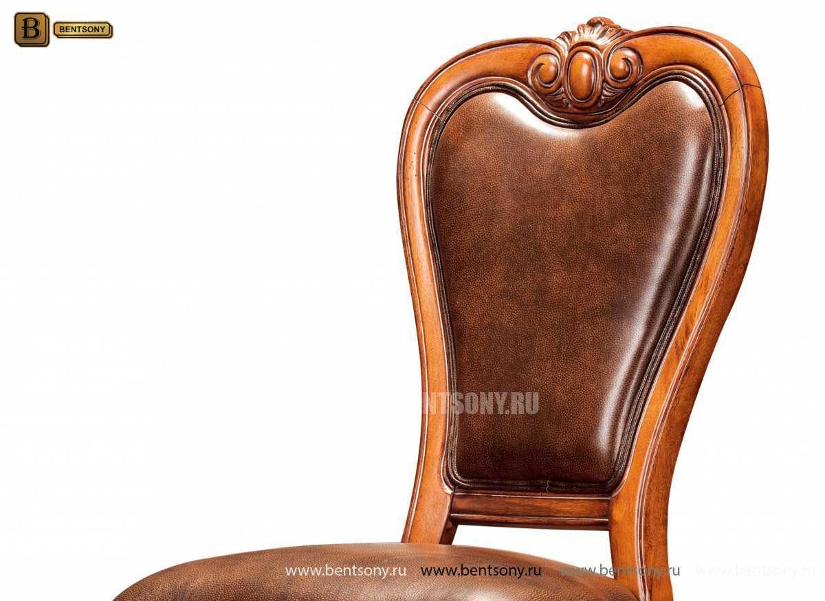 Стул Монтана A (без подлокотников, натуральная кожа) каталог мебели с ценами
