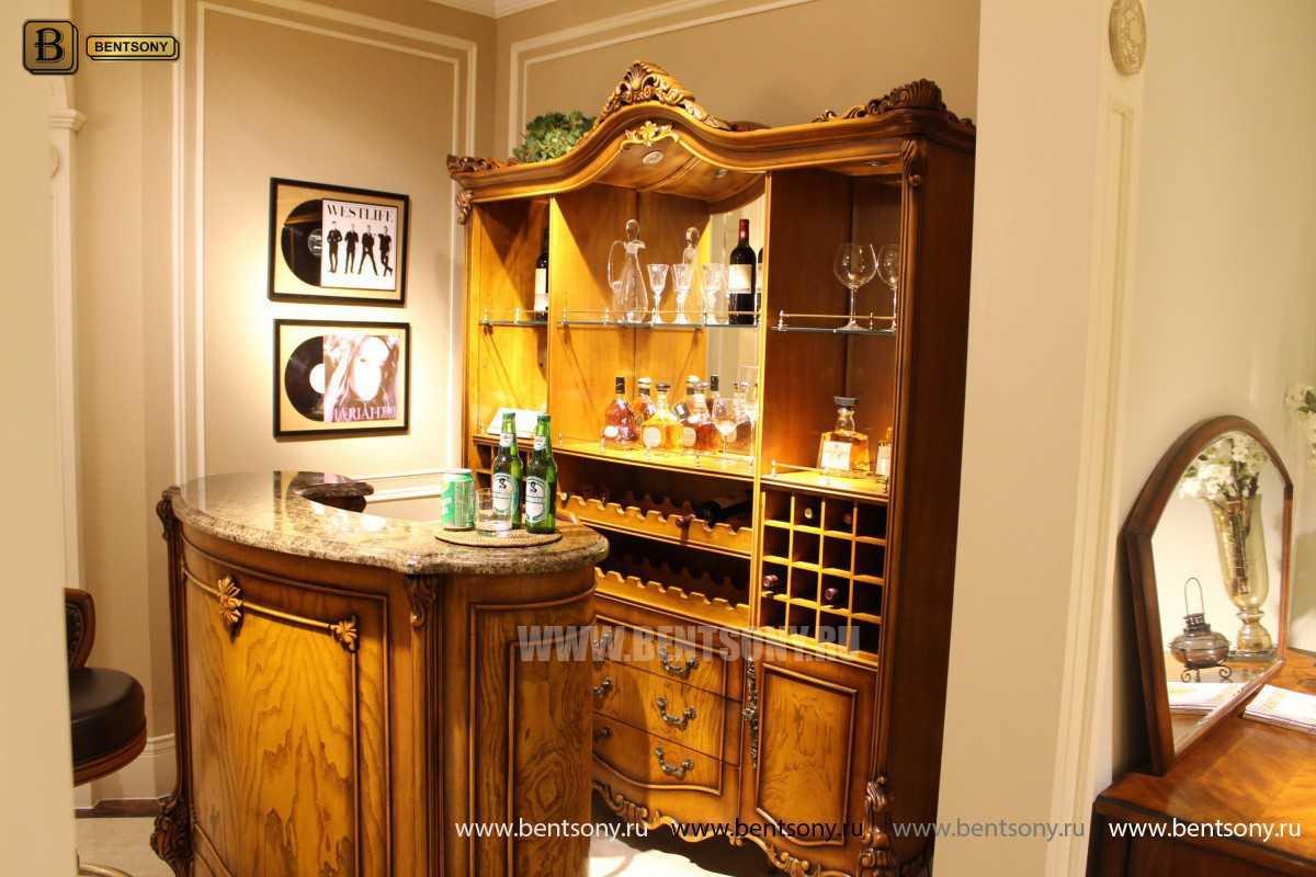 Буфет (Барный шкаф) Дакота (Классика, массив дерева) официальный сайт цены