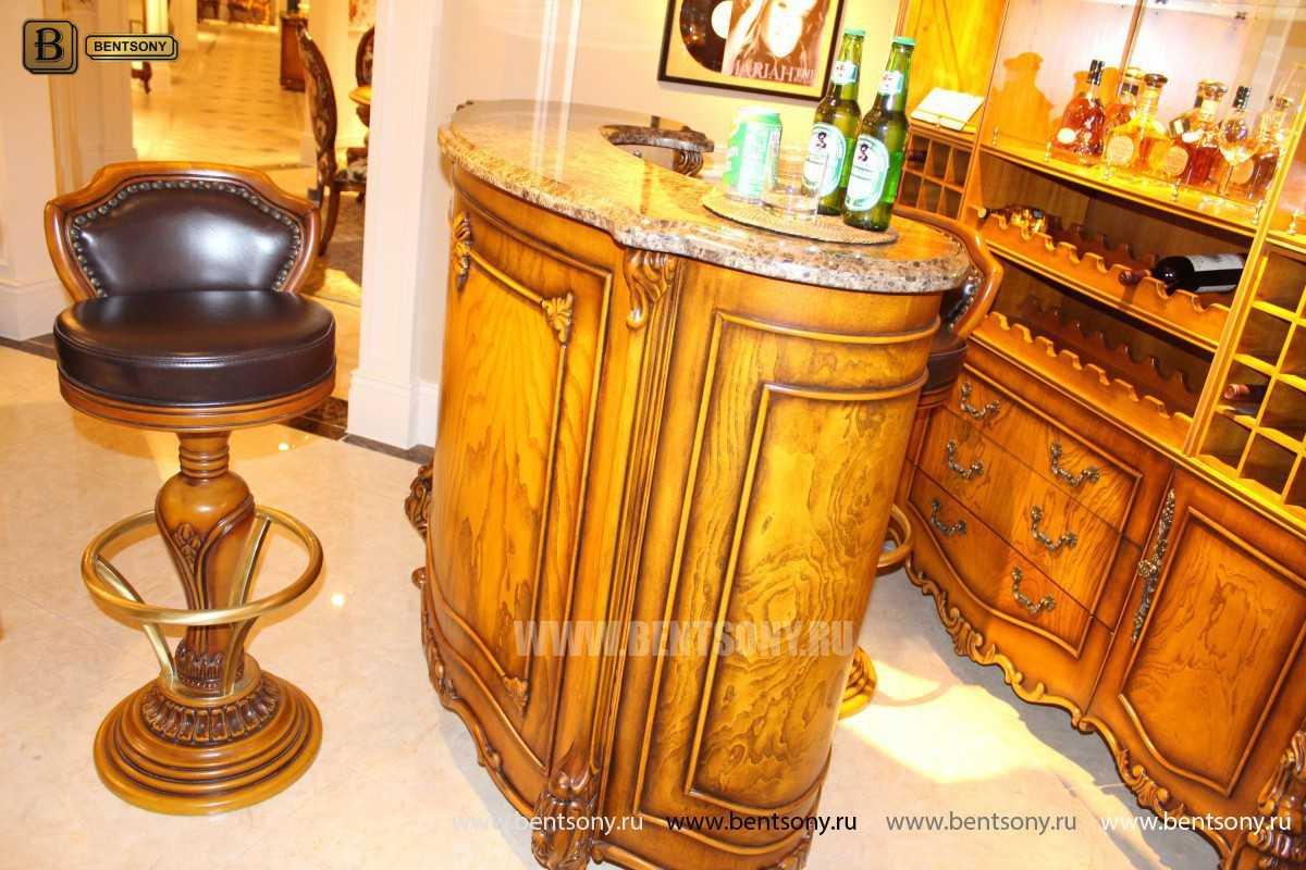 Буфет (Барный шкаф) Дакота (Классика, массив дерева) магазин Москва