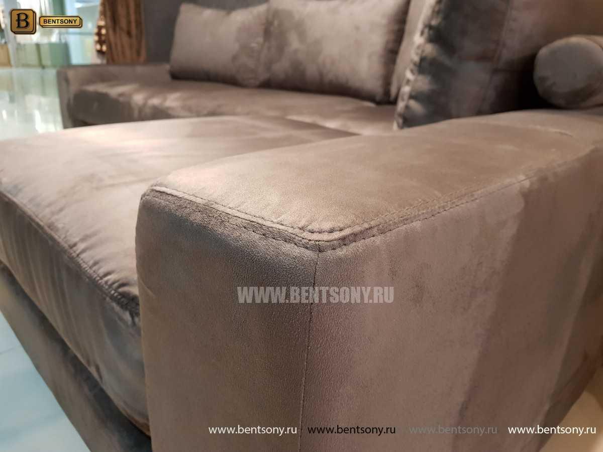 Итальянский  Диван Луиджи (Угловой с Шезлонгом) каталог мебели с ценами