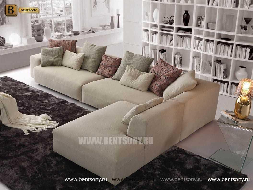 Диван Коррадо (Угловой, Тканевый) каталог мебели