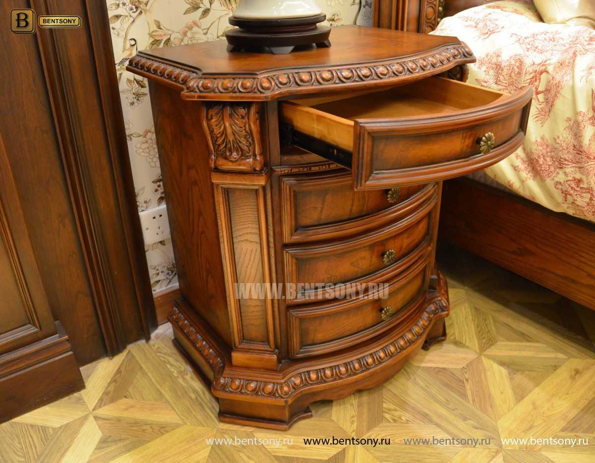 Классический прикроватный столик