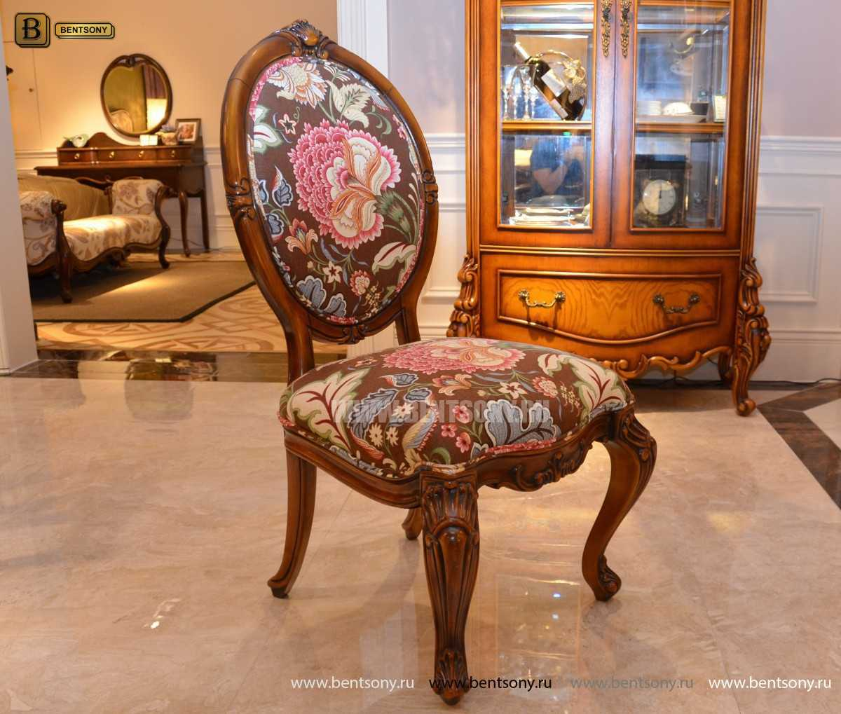 Классический стул массив дерева Италия