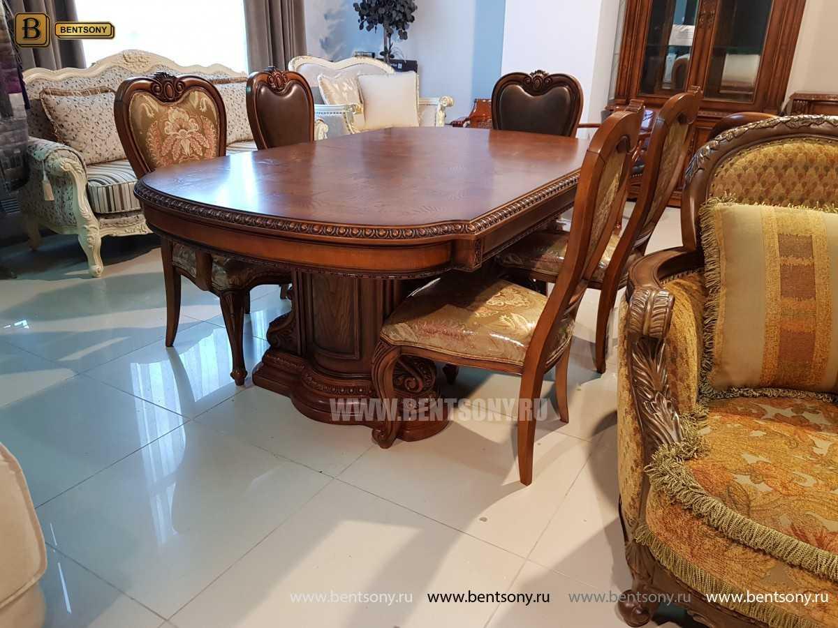 Обеденный стол Монтана (Раскладной, массив дерева) для загородного дома